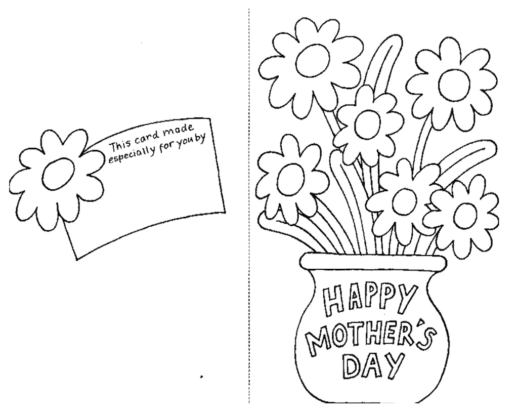 Disegni da colorare per la festa della mamma fotogallery for Mothers day coloring pages religious