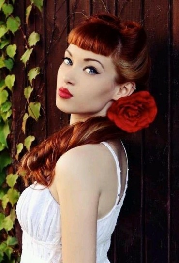 Tendenze capelli 2014: hairstyle vintage rockabilly