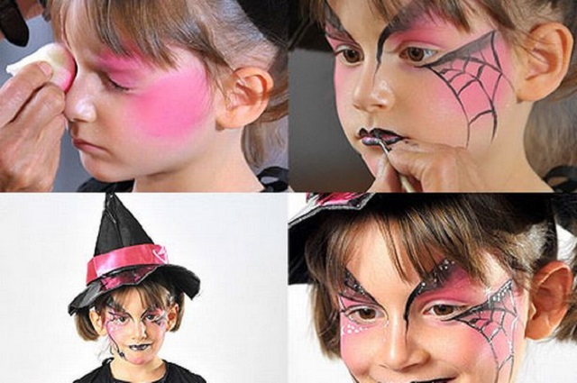 Make-up di Halloween per bambini