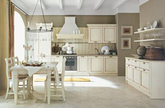 Cucina in stile provenzale fotogallery donnaclick - Mobili country bianchi ...