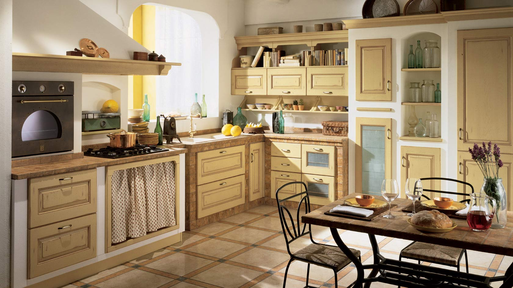 Emejing Come Arredare La Cucina Ideas - Skilifts.us - skilifts.us