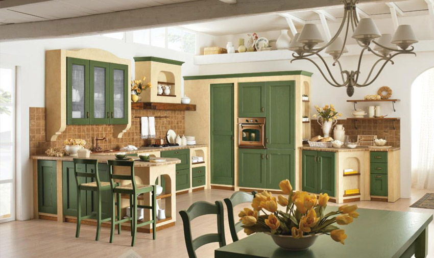 Cucine country provenzale