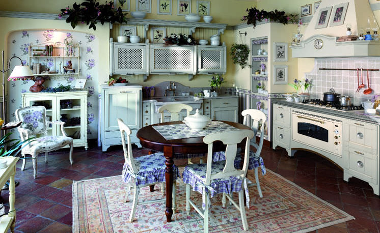 Cucina in stile provenzale fotogallery donnaclick for Casa in stile francese