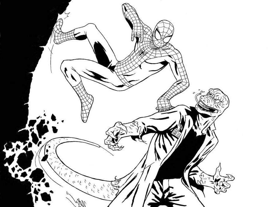 Disegni di spiderman fotogallery donnaclick for Spiderman da colorare e stampare