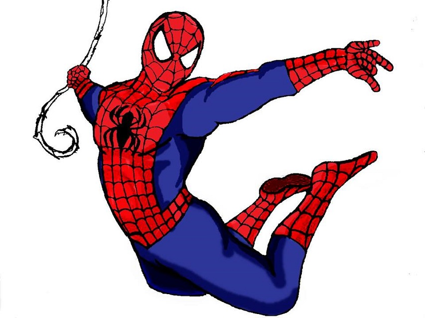 Disegni di spiderman fotogallery donnaclick for Disegni spiderman da colorare