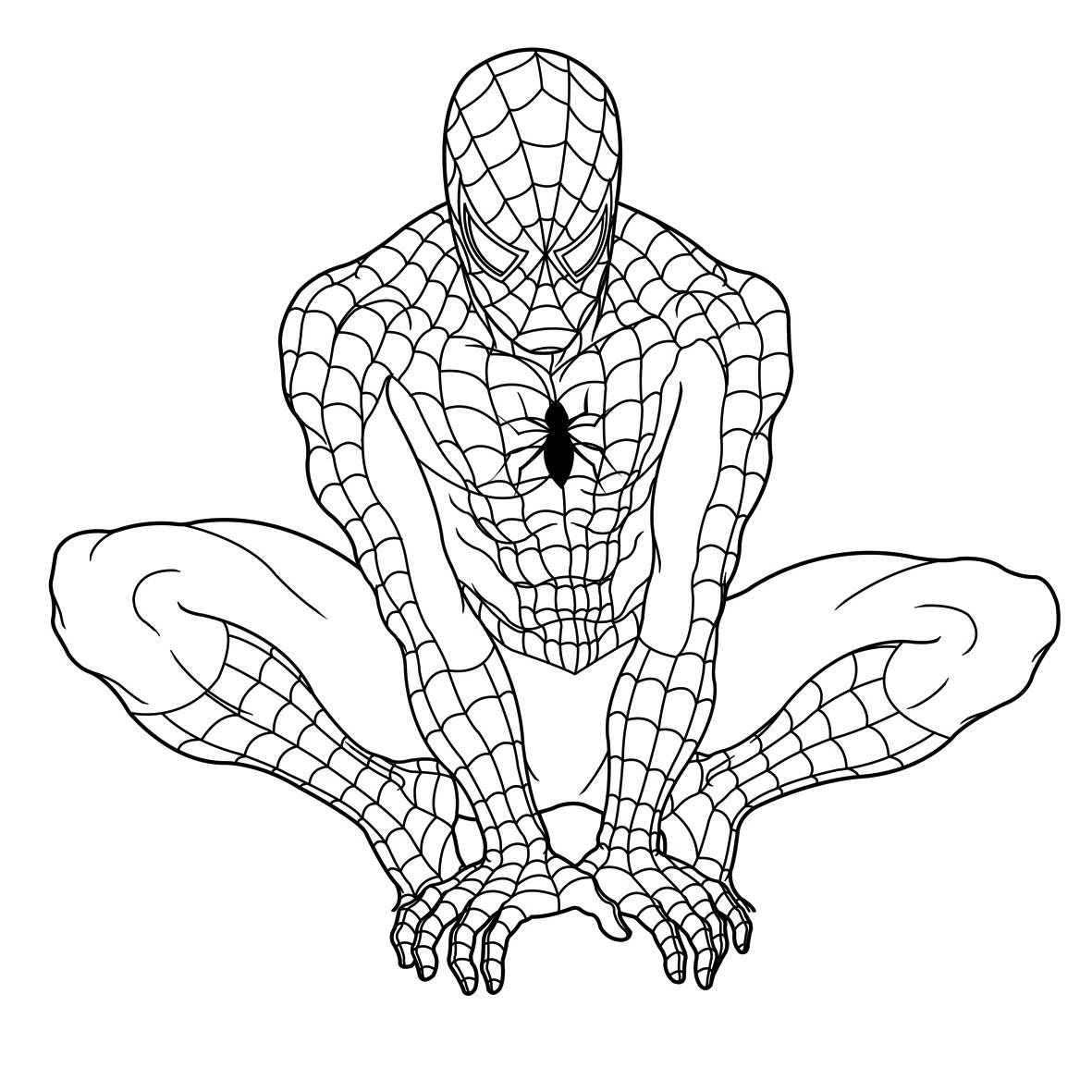 Disegni di spiderman fotogallery donnaclick for Disegni da colorare e stampare di spiderman