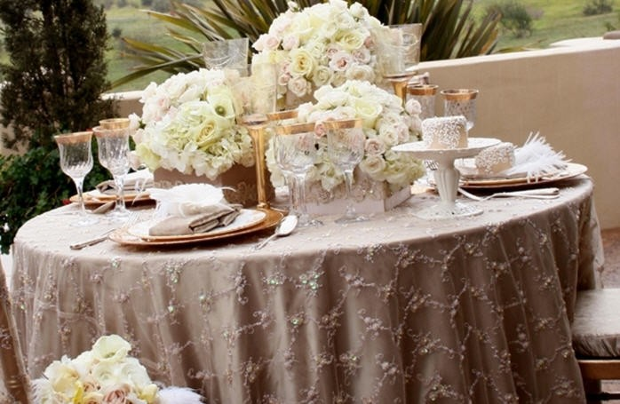 Super Idee per una tavola di matrimonio in stile shabby chic - Donnaclick ZO17