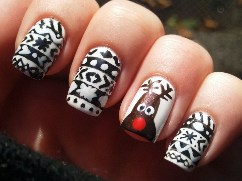 Winter Nail Designs 2014 Tumblr Images Free Download The Best