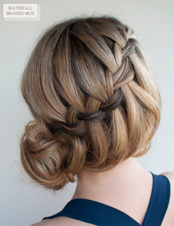 hair styles to do with curly hair acconciature romantiche per san valentino 2015 fotogallery 3044 | Chignon intrecciato