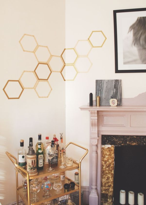 Decorazioni geometriche per pareti fotogallery donnaclick for Idee per decorare pareti