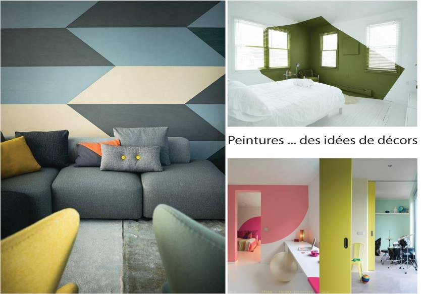 Decorazioni geometriche per pareti fotogallery donnaclick - Pareti colorate casa moderna ...