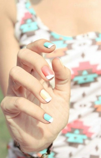 Nail art primavera estate 2015