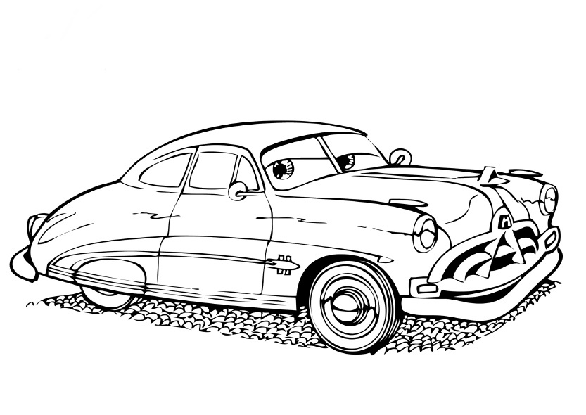 coloring pages cars movie characters - photo#26