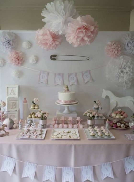 spesso Come decorare la casa per un baby shower party, per una festa  UA57