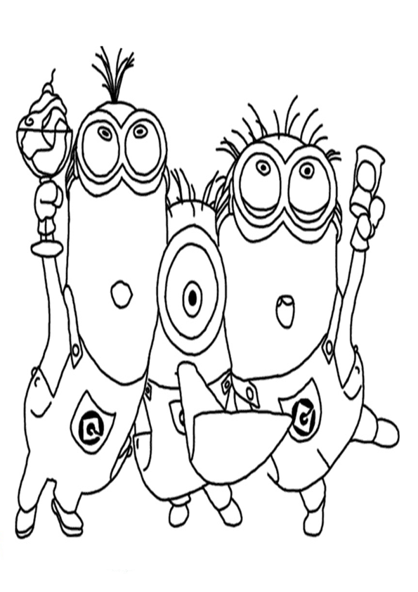 Kevin Coloring Pages