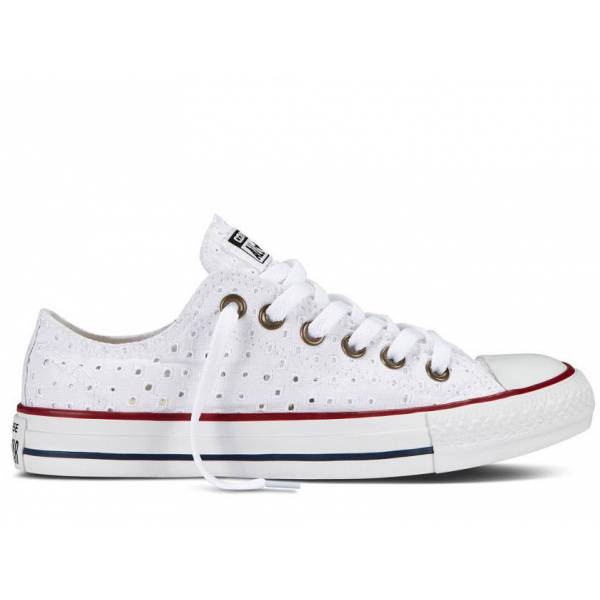 all star converse bianche pizzo