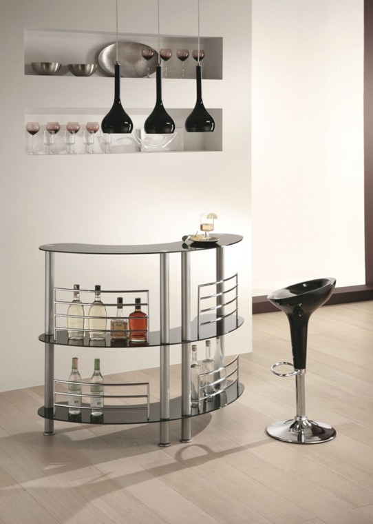 Idee per un angolo bar in casa fotogallery donnaclick for Riempire piani casa