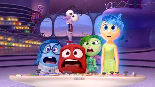 Disegni di Inside Out da stampare e colorare