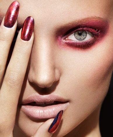 Make up rosa e rosso per l'inverno 2015-2016