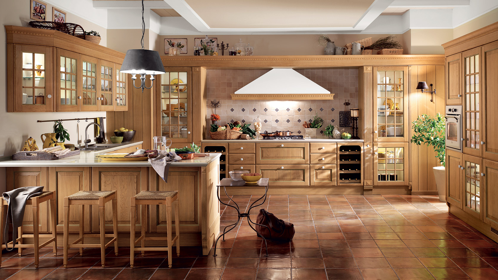 Cucine in stile country   fotogallery donnaclick