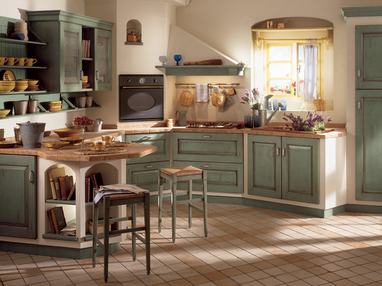 Cucine in stile country pagina 10 fotogallery donnaclick - Cucina stile vintage ...