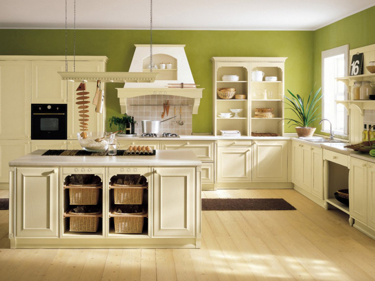 Cucine con isola country co52 regardsdefemmes for Stili cucine