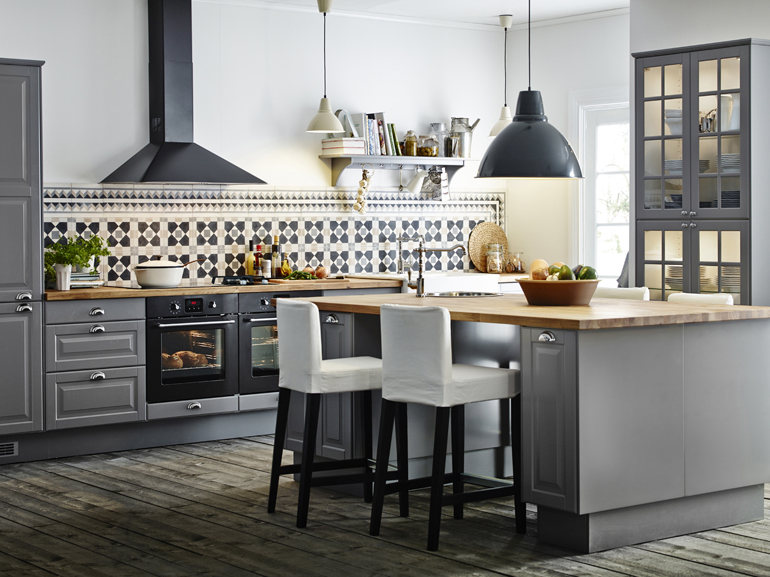 Cucine in stile country fotogallery donnaclick for Piastrelle cucina panna