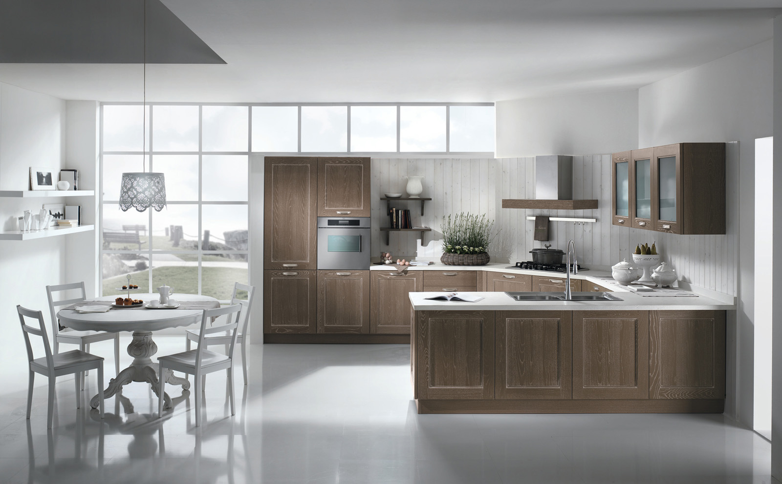 Awesome cucine stile country moderno pictures ideas for Stile country moderno