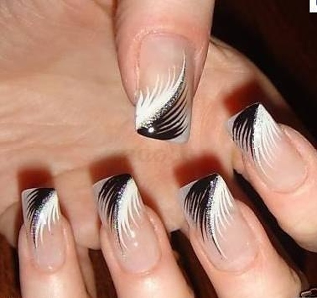 Favoloso Nail art in bianco e nero Pagina 3 - Fotogallery Donnaclick TH58