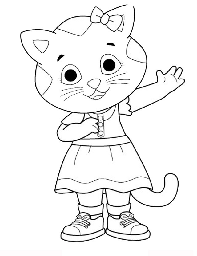 Disegni di daniel tiger da stampare gratis fotogallery for Daniel tiger coloring pages
