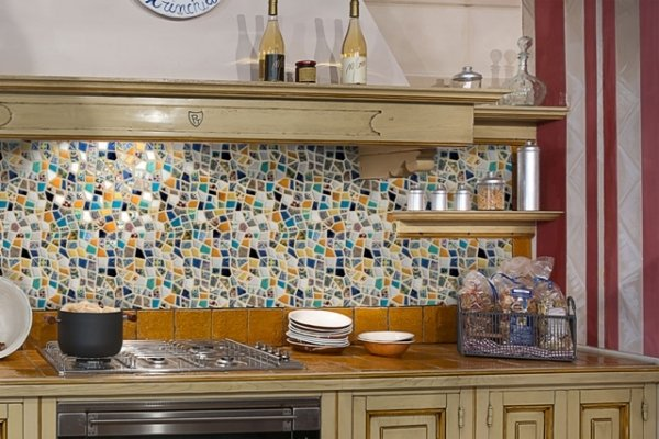 Beautiful Rivestimenti Cucina Mosaico Gallery - Embercreative.us ...