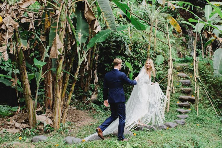 Matrimonio in stile jungle