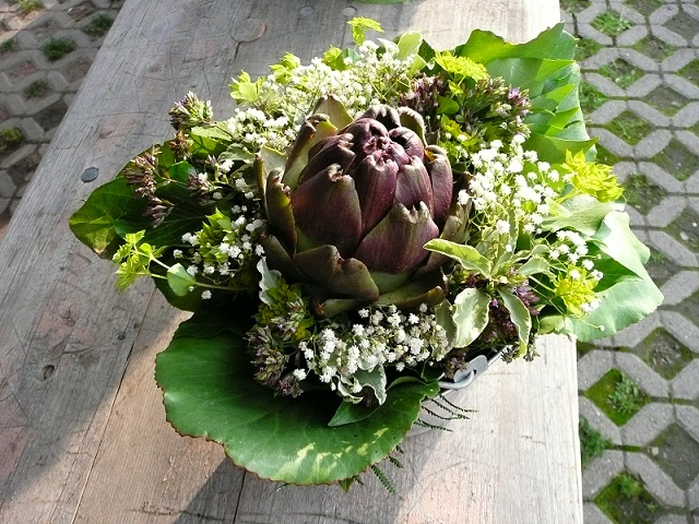 Bouquet vegetali per il matrimonio
