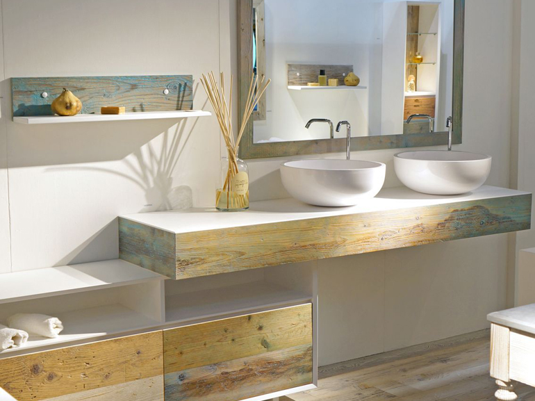 Beautiful Bagni Con Legno Pictures - New Home Design 2018 - ummoa.us