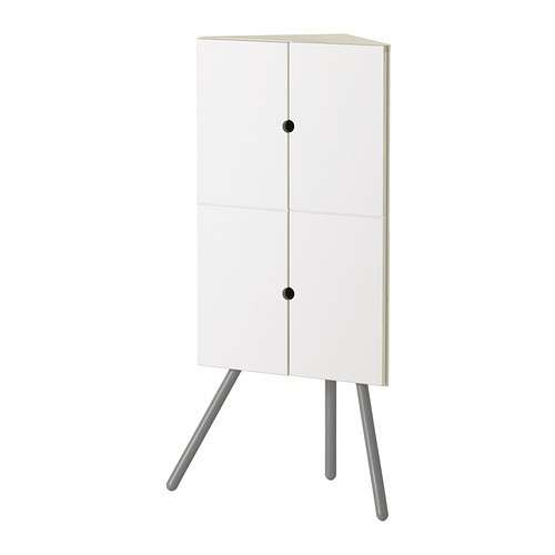 Mobiletto angolare bagno stunning mobile a colonna da for Mobiletti tv ikea