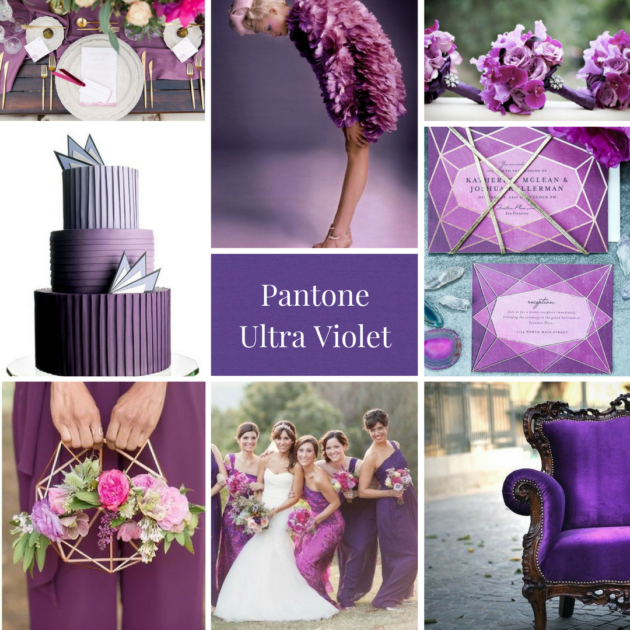 Matrimonio color Ultra Violet