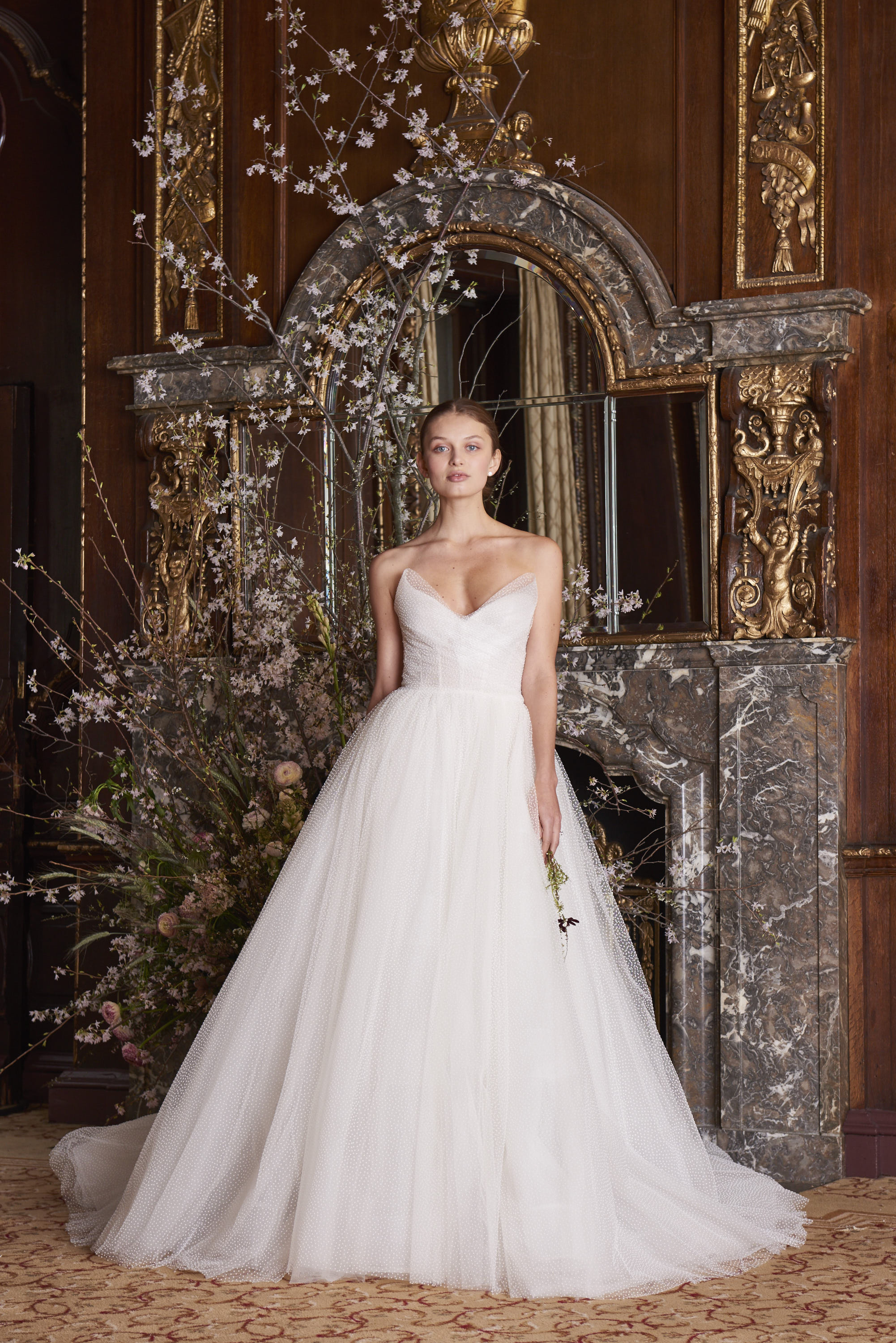 Vestiti da sposa Monique Lhuillier 2019
