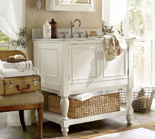 Mobili bagno shabby chic - Fotogallery