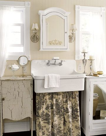Mobili country chic fotogallery donnaclick - Mobili country bagno ...